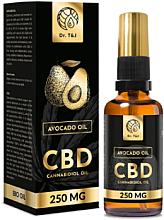 Parfumuri și produse cosmetice Ulei natural de avocado CBD 250mg - Dr. T&J Bio Oil