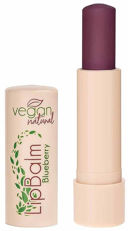 "Balsam de buze ""Blueberry"" - Vegan Natural Lip Balm For Vegan Blueberry — Imagine N2"