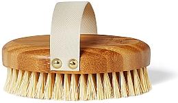 Parfumuri și produse cosmetice Perie din bambus pentru masaj - Crystallove Bamboo Agave Body Brush
