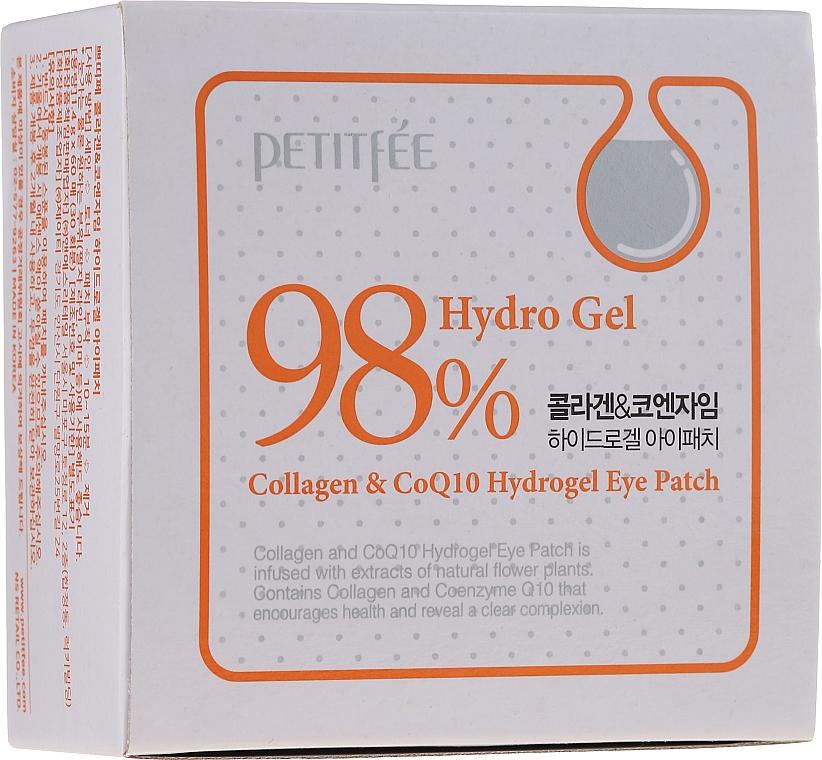 Patch-uri de hydrogel sub ochi, cu colagen și coenzime - Petitfee & Koelf Collagen & Co Q10 Hydrogel Eye Patch