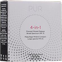 Parfumuri și produse cosmetice Fond de ten - Pur 4-In-1 Pressed Mineral Makeup SPF15