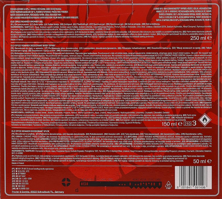 Set - Old Spice Cyberpunk (deo/50g + sh/gel/250ml + deo/spray/150ml) — Imagine N2