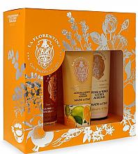 Parfumuri și produse cosmetice Set - La Florentina Bobli Citrus Set (b/splash/200ml + b/lot/200ml + h/cr/75ml)