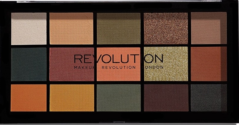 Paletă fard de ochi - Makeup Revolution Division Re-loaded Palette