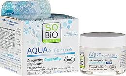 Parfumuri și produse cosmetice Cremă-gel de zi - So'Bio Etic Aqua Energie Dynamic Oxygen-Rich Gel Day Cream