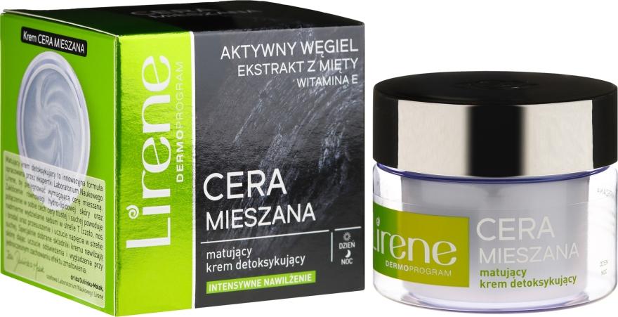 Cremă detox pentru față - Lirene Dermo Program