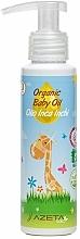 Parfumuri și produse cosmetice Ulei cu extract de Sacha Inchi pentru bebeluși - Azeta Bio Organic Baby Oil Inca Inchi