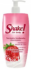 "Parfumuri și produse cosmetice Loțiune de corp ""Căpșună"" - Shake for Body Regenerating Body Lotion Strawberry"