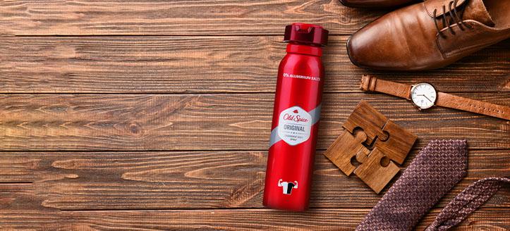 La achiziționarea produselor Old Spice începând cu suma de 44 RON, primești cadou un deodorant