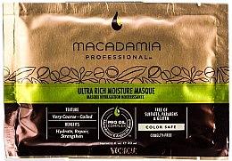 Parfumuri și produse cosmetice Mască de păr - Macadamia Professional Oil Ultra Rich Moisture Masque (mostră)
