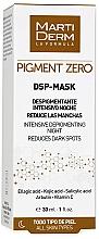 Parfumuri și produse cosmetice Mască depigmentantă pentru față - MartiDerm Pigment Zero DSP-Mask Intensive Depigmenting Night