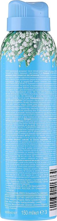 "Deodorant spray ""Delicat"" - Secret Key Delicate Deodorant Spray — Imagine N2"