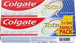 Parfumuri și produse cosmetice Pastă de dinți - Colgate Total Whitening Toothpaste Duopack