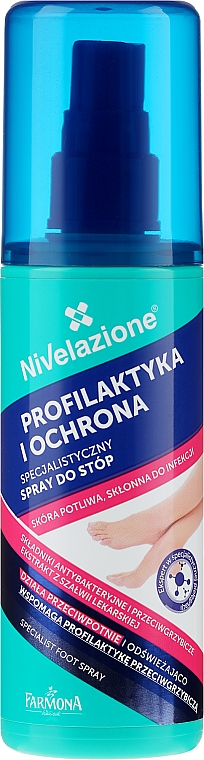 Spray pentru picioare - Farmona Nivelazione Foot Spray — Imagine N1
