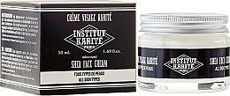 Parfumuri și produse cosmetice Cremă de față pentru bărbați - Institut Karite Milk Cream Men Shea Face Cream