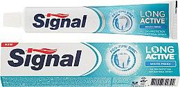 Parfumuri și produse cosmetice Pasta de dinți, pentru albire - Signal Long Active White Fresh Toothpaste