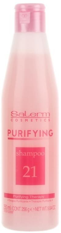 Șampon hidratant - Salerm Linea SPA Purificante Shampoo  — Imagine N1