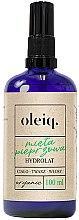 Parfumuri și produse cosmetice Hidrolat de Mentă pentru față, corp și păr - Oleiq Hydrolat Mint