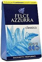 "Parfumuri și produse cosmetice Pliculeț aromatic ""Classic"" - Felce Azzurra Sachets Classic"