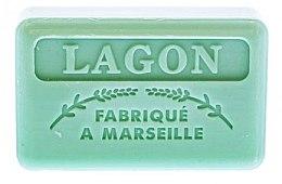 """Parfumuri și produse cosmetice Săpun de Marsilia """"Laguna"""" - Foufour Savonnette Marseillaise Lagon"""