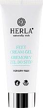 Parfumuri și produse cosmetice Cremă pentru picioare - Herla Feet Cream-Gel