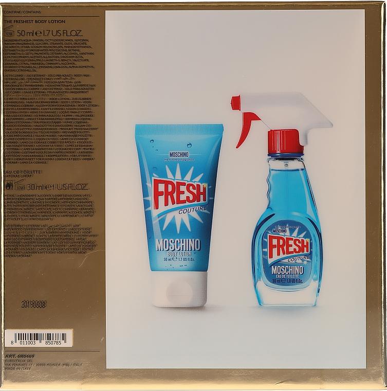 Moschino Fresh Couture - Set (edt/30ml+b/lot/50ml) — Imagine N4