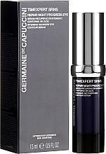 Parfumuri și produse cosmetice Ser revitalizant pentru pleoape - Germaine de Capuccini Timexpert SRNS Repair Night Progress Eye