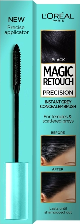 Mascara pentru păr - L'Oreal Magic Retouch Precision Instant Grey Concealer Brush