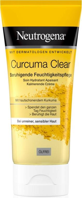 Cremă hidratantă cu extract de turmeric - Neutrogena Curcuma Clear Cream