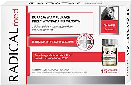 Parfumuri și produse cosmetice Complex în fiole împotriva căderii părului pentru femei - Radical Med Anti Hair Loss Ampoule Treatment For Woman