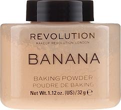 Parfumuri și produse cosmetice Pudră de față - Makeup Revolution Banana Baking Powder