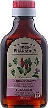 Parfumuri și produse cosmetice Ulei de brusture cu ardei roșu pentru creșterea părului - Green Pharmacy