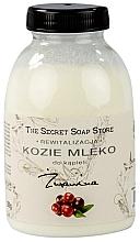 """Parfumuri și produse cosmetice Lapte de capră pentru baie """"Afine"""" - The Secret Soap Store Cranberry Goat Milk"""