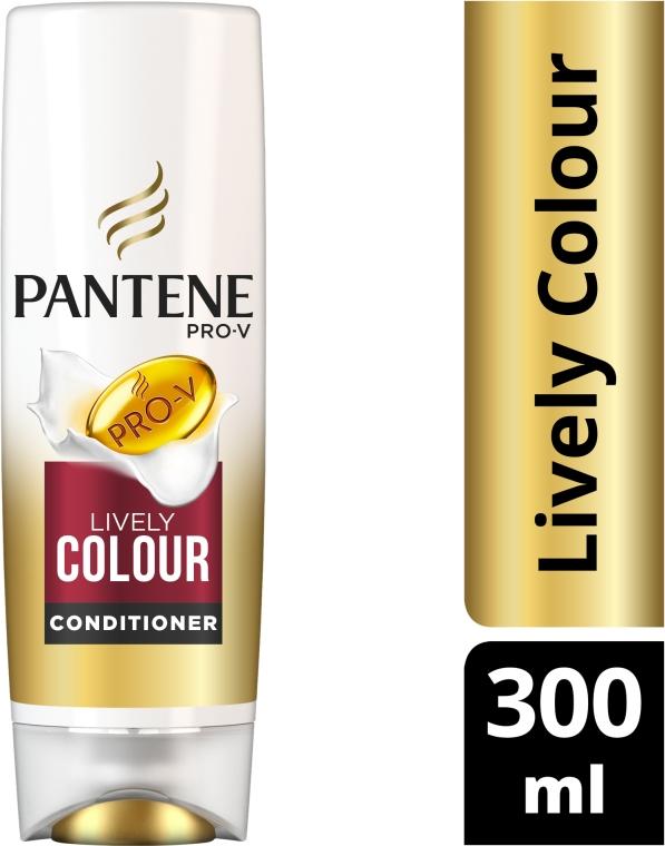 "Balsam de păr Condiționant ""Protecția culorii și strălucirii"" - Pantene Pro-V Lively Color Conditioner — Imagine N7"