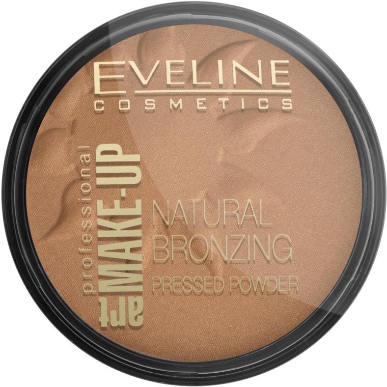 Pudră compactă bronzantă - Eveline Cosmetics Art Professional