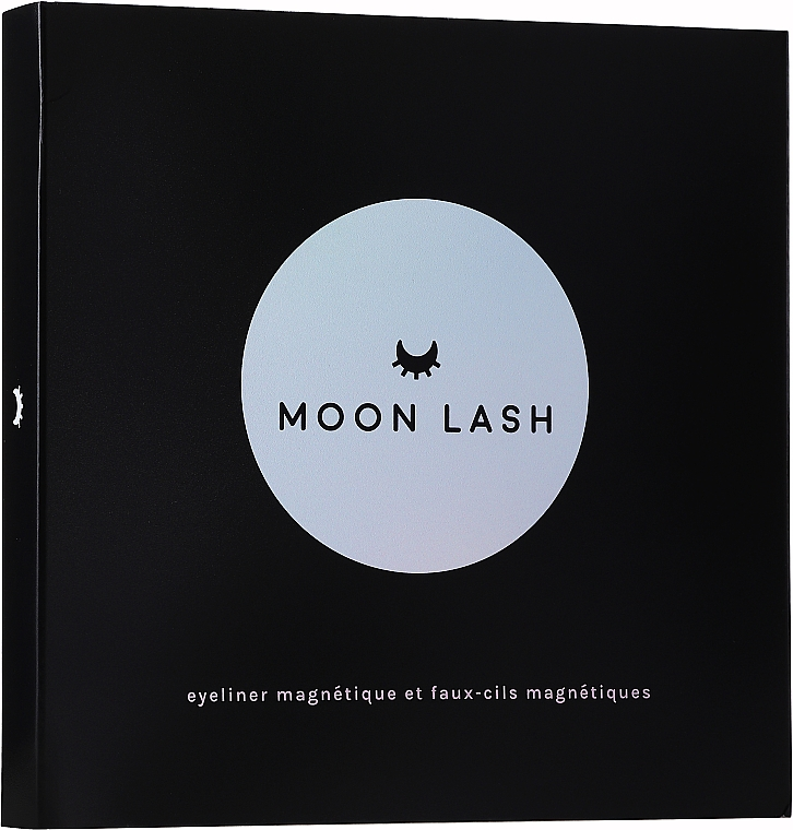 Set - Moon Lash Kit Magnetic 005 New Moon (eyelashes/1pcs + clip + eye/liner/5ml)