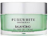 Parfumuri și produse cosmetice Cremă-gel de față - Pure White Cosmetics Balancing Oil-Free Gel Cream