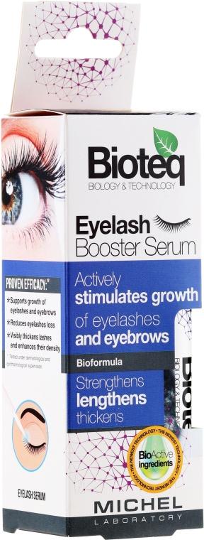 Ser pentru sprâncene și gene - Bioteq Eyelash Booster Serum