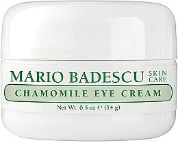 Parfumuri și produse cosmetice Cremă cu extract de mușețel pentru zona din jurul ochilor - Mario Badescu Chamomile Eye Cream