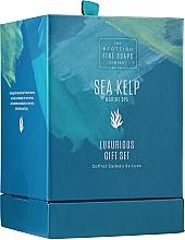 Parfumuri și produse cosmetice Set - Scottish Fine Soaps Sea Kelp Marine Spa Luxurious Gift Set(b/cr/75ml + b/peel/75ml + sh/cr/75ml + soap/40g)