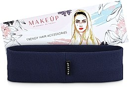 """Parfumuri și produse cosmetice Bandă elastică pentru păr """"Be Beauty"""", albastră - MakeUp"""