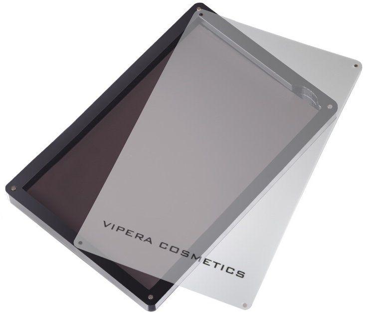 Husă magnetică pentru farduri de ochi, mică - Vipera Magnetic Play Zone Small Professional Satin Palette — Imagine N2