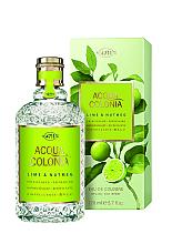 Parfumuri și produse cosmetice Maurer & Wirtz 4711 Aqua Colognia Lime & Nutmeg - Apă de colonie