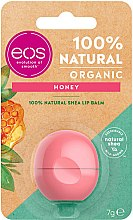 "Balsam de buze ""Miere"" - EOS 100% Natural Organic Honey Lip Balm — Imagine N1"