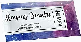 Parfumuri și produse cosmetice Mască de noapte pentru păr mediu poros - Anwen Masks Sleeping Beauty (mostră)