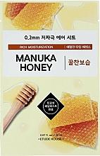 Parfumuri și produse cosmetice Mască de față, ultra-subțire cu extract de miere de manuka - Etude House Therapy Air Mask Manuka Honey