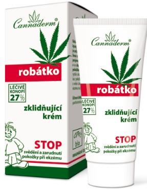 Cremă de corp - Cannaderm Robatko — Imagine N1