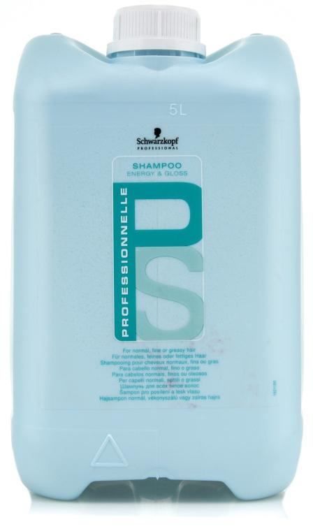 Șampon pentru strălucire și energie - Schwarzkopf Professional Professionnelle Energy & Gloss Shampoo — Imagine N1