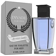 Parfumuri și produse cosmetice Street Looks Invade For Him - Apă de toaletă