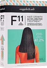 Parfumuri și produse cosmetice Set - Nuggela & Sule` F11 Hair Growth Accelerating Treatment (shm/250ml + ser/70ml)